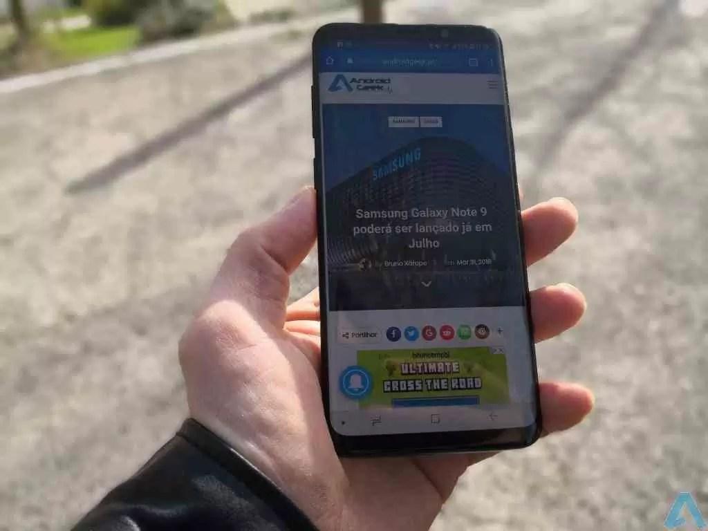 Análise Samsung Galaxy S9+ simplesmente o melhor Galaxy de sempre 11
