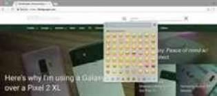 Google Chrome irá oferecer uma maneira fácil de inserir emoji em desktops 1