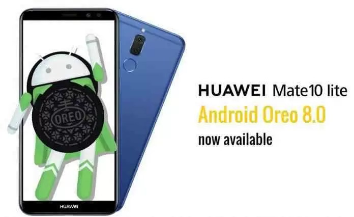 Huawei Mate 10 Lite começa a receber a EMUI 8.0 baseada no Oreo image