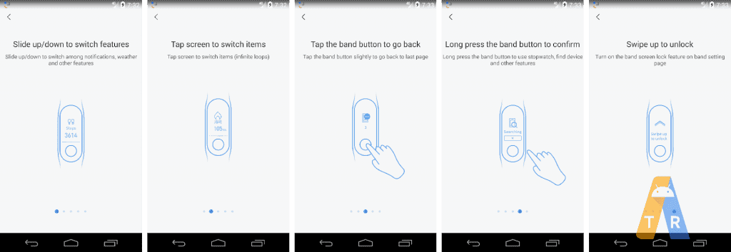 Imagens mostram Xiaomi Mi Band 3 com TouchScreen 1