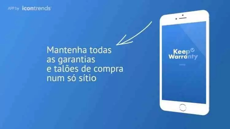 KEEP WARRANTY por: IconTrends disponível no Google Play Store 2