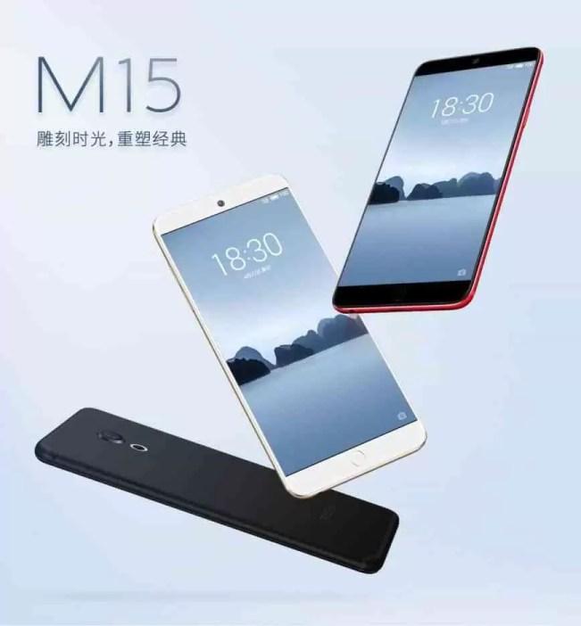 Meizu oficializa os smartphones da série 15 com ecrã 16:9 1