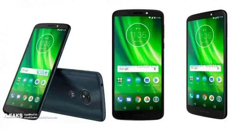 Motorola Moto G6 Play revelado em video Hands On 2