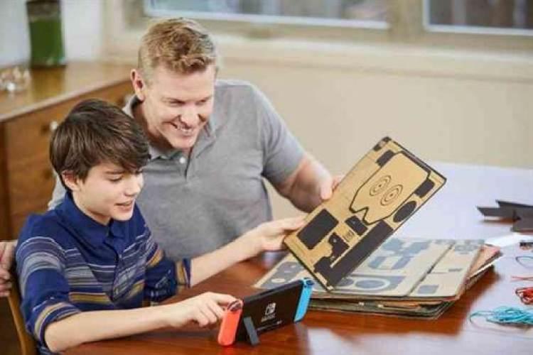 NINTENDO LABO combina peça de cartão e videojogos numa experiência única 1