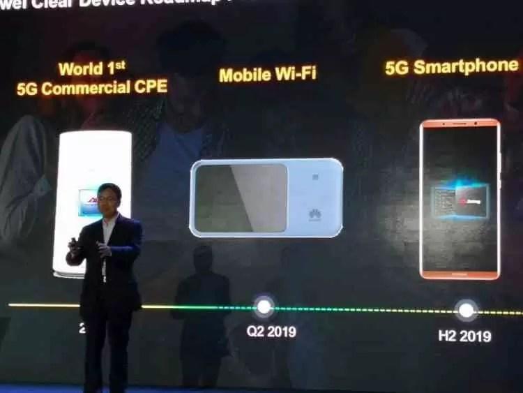 Primeiro smartphone 5G da Huawei chega já em 2019 1