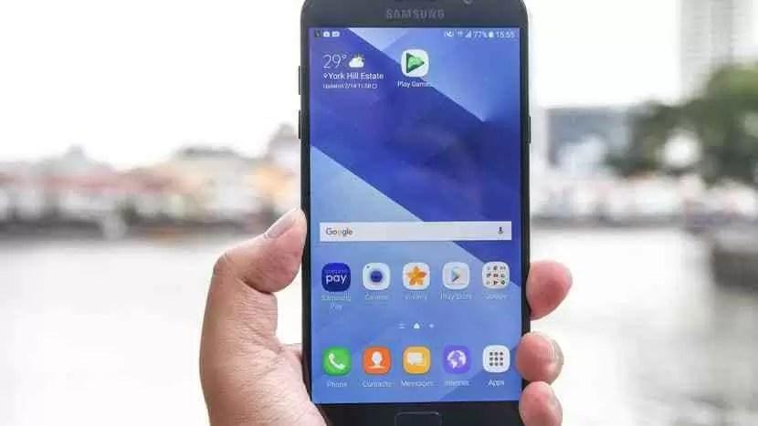 Samsung lança actualização de segurança de Julho para Galaxy A7 (2017) 1
