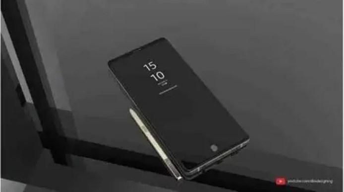 Samsung Galaxy Note 9 Deslumbrante em novo conceito 5