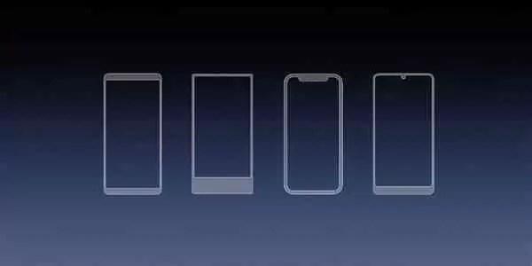 Samsung regista patente na China para um ecrã com Entalhe (Notch) 1