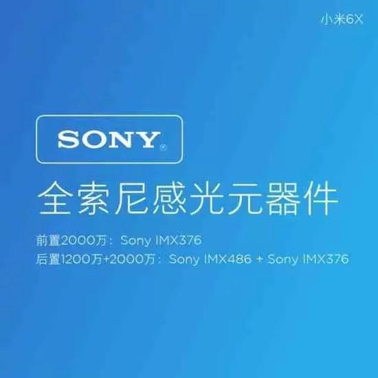 Xiaomi Mi 6X estreia-se com câmaras duplas AI 3
