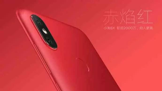 Xiaomi Mi 6X vai chegar em cinco opções de cores 1