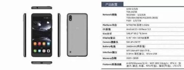 ZTE A530 é oficial com ecrã de 5,45 polegadas e um preço super baixo 5