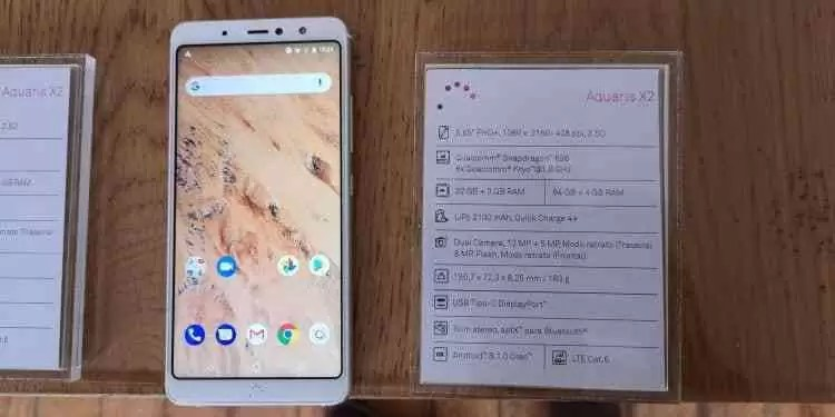 Vídeo Hands On BQ Aquaris X2 e X2 Pro  14