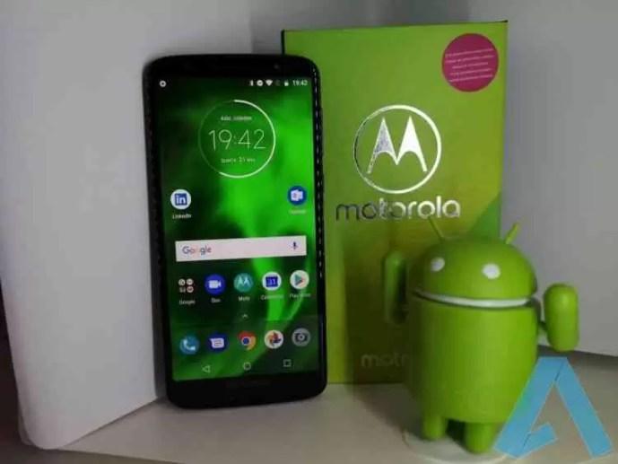 Quer os papeis de parede do Motorola Moto G6 Plus? 1