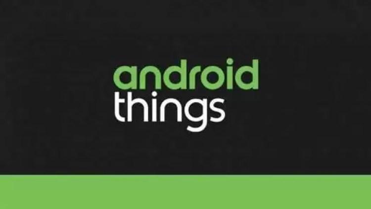 Android Things 1.0 é a nova arma da Google 1