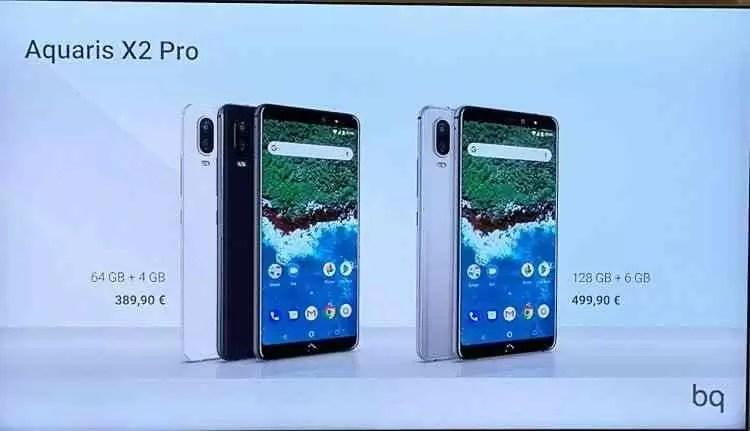 BQ apresenta os Aquaris X2 e X2 Pro em Lisboa 1