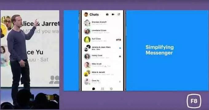 Facebook Messenger vai receber uma grande atualização, juntamente com um tema escuro 1