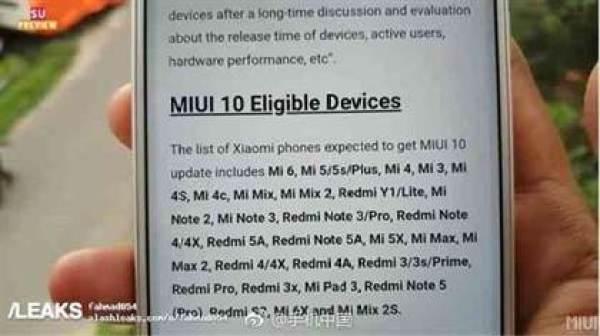 Fuga de informação mostra que MIUI 10 é semelhante ao Android P 7