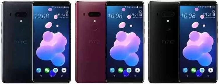 HTC U12 Plus totalmente revelado em fuga de informação 1