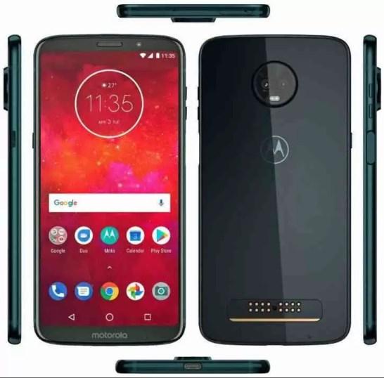 Motorola Moto Z3 Play será lançado a 6 de junho 2