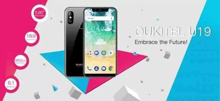 Oukitel U19 visualmente igual ao iPhone X vai chegar por uns incríveis 100$ 1