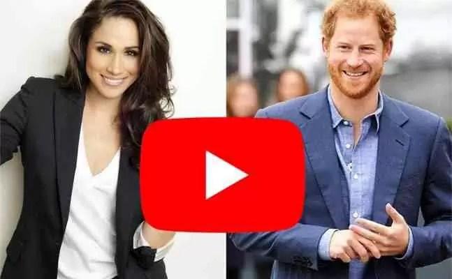 Príncipe Harry e Meghan Markle já são estrelas do Youtube 1