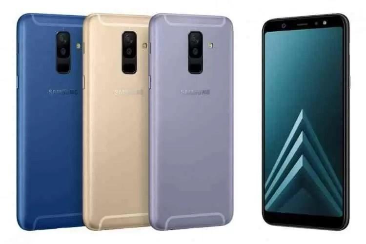 Samsung Galaxy A6 e A6 + são agora oficiais 2