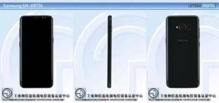 Samsung Galaxy S8 Lite SM-G8750 aparece na TENAA 2