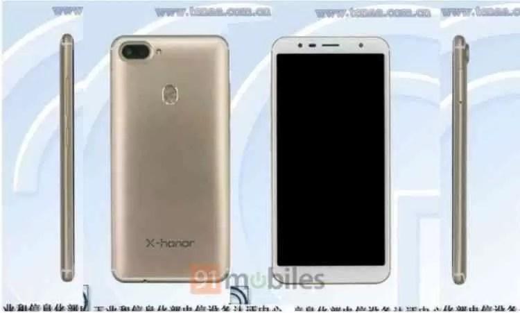 Possível Honor V12 mostra o seu design em certificação 1
