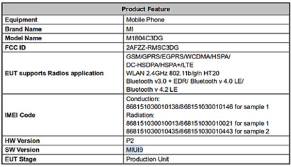 Dois novos desconhecidos Smartphones da Xiaomi passaram por certificação 1