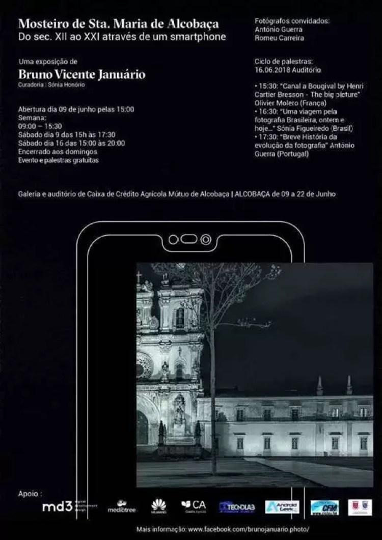 """Alcobaça recebe exposição """"Do sec XII ao XXI através de um Smartphone"""" 1"""