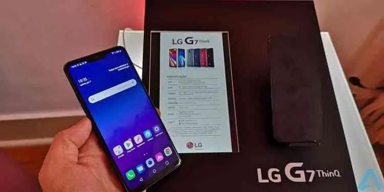 LG G7 ThinQ Hands On e primeiras impressões 1