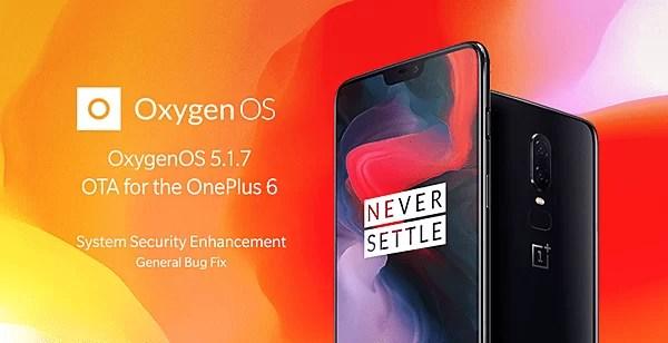OnePlus 6 Update OxygenOS 5.1.7 corrige vulnerabilidade do bootloader 1