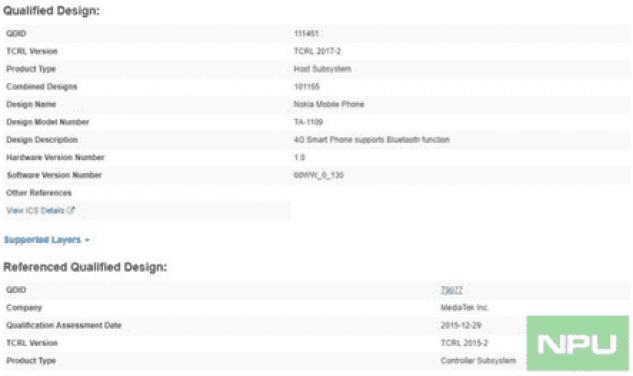 Possível Nokia 5.1 Plus ou X5 ganha certificação Bluetooth 1
