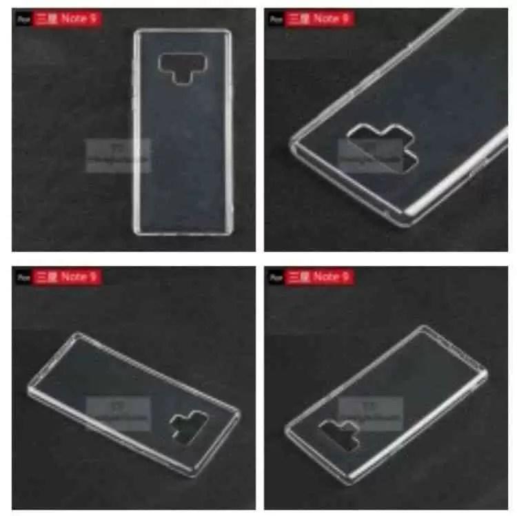 Capa do Samsung Galaxy Note9 mostra nova posição do leitor de impressão digital e um novo botão mistério 3