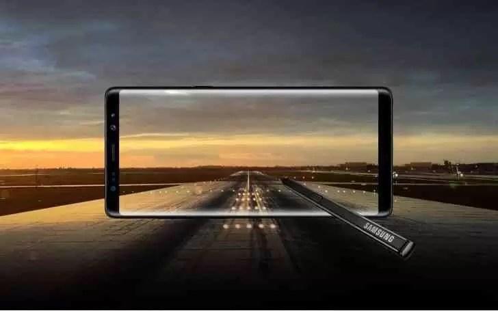 Cores do Galaxy Note 9 Reveladas pela sua S-Pen 2