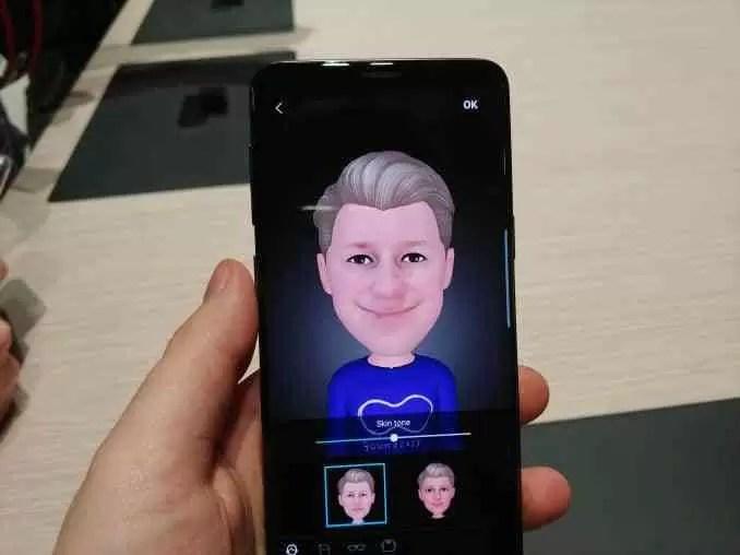 Samsung dá aos proprietários do Galaxy S9 18 novos AR Emoji 1