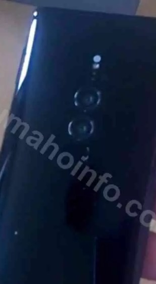 Sony Xperia XZ3 imagens reais em fuga de informação image