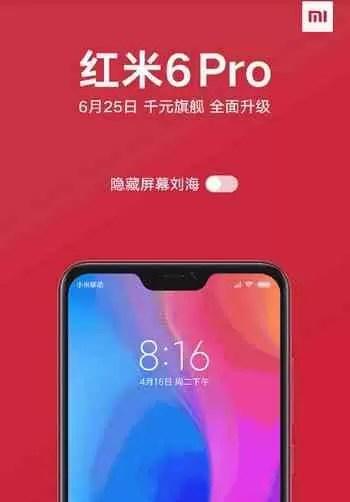 Xiaomi Redmi 6 Pro aparece em novas imagens de alta qualidade 1