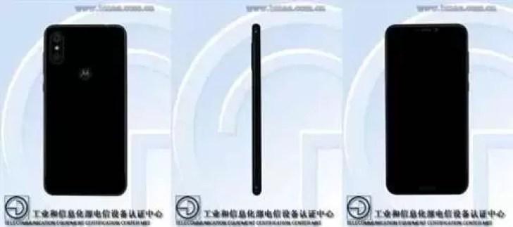 O Motorola One também foi visto na TENAA 1