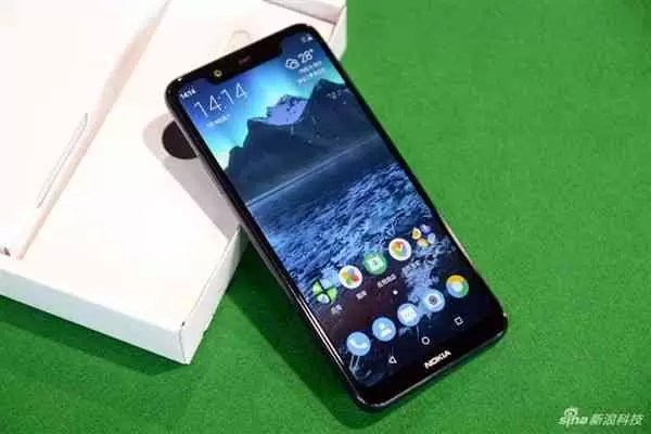 Já viram o Nokia X5 na cor Mar Báltico Azul? 2