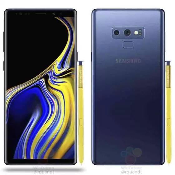 Giveaway Samsung Galaxy Note 9
