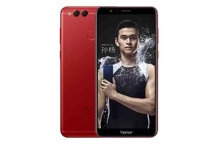 Honor 7X Flame Red