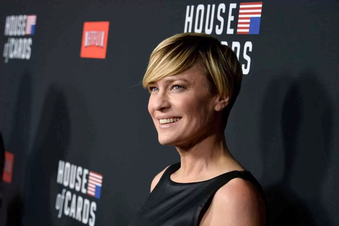 Atriz de House of Cards, Robin Wright