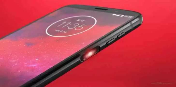 Moto Z3 estreia com scanner de impressões digitais na lateral e 5G mod 2