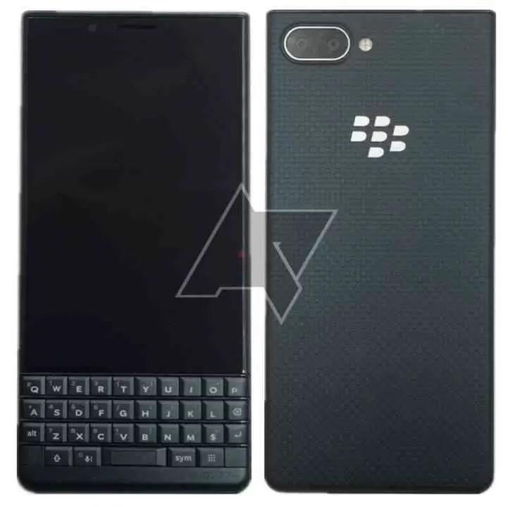 BlackBerry KEY2 LE especificações e fotos reveladas 1
