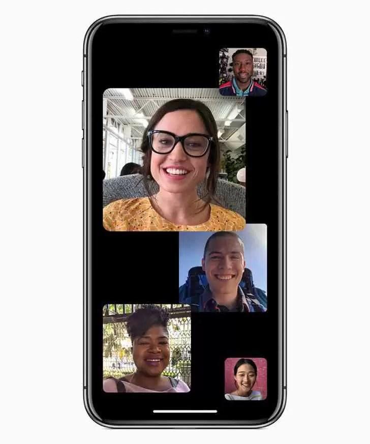 O Group FaceTime não estará disponível no lançamento inicial do iOS 12 1