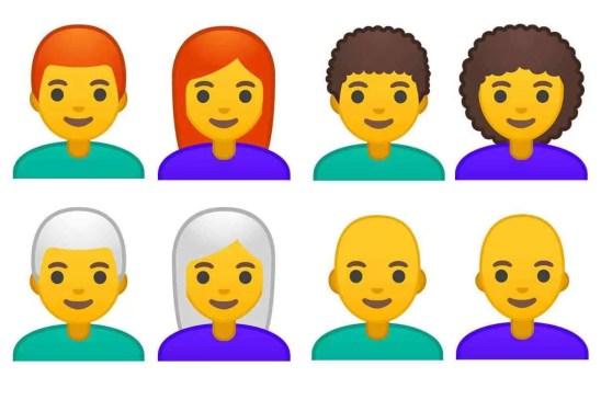 Android 9.0 Pie vem com 157 novos designs de emojis 1