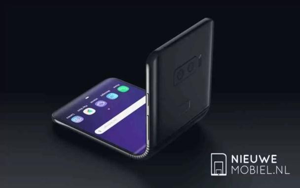 Imagens de design de conceito do Galaxy F Flexível retratam uma dobradiça credível 1