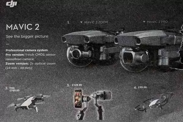 DJI Phantom 5 pode estrear a 23 de agosto ao lado do Mavic Pro 2 1
