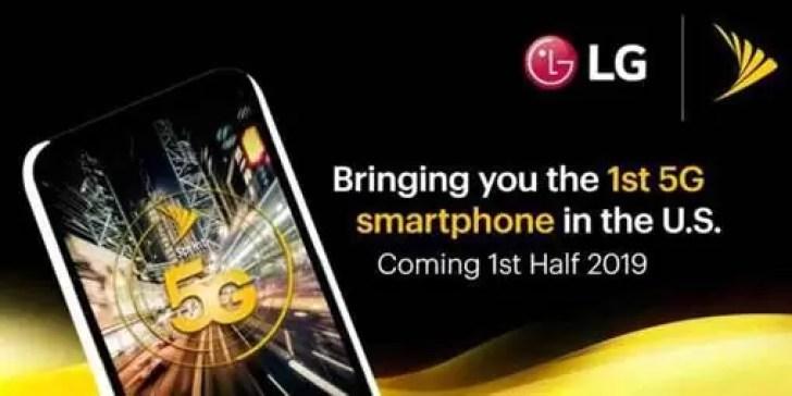 LG com o seu primeiro smartphone 5G no primeiro semestre de 2019 1